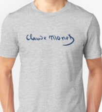 Claude Monet - Signature T-Shirt