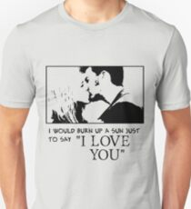 Nerd Valentines: The Doctor loves you! Unisex T-Shirt