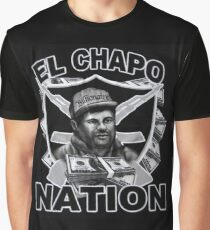 El Chapo Nation Graphic T-Shirt
