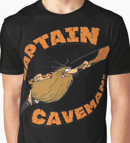 Captain Caveman Graphic T-Shirt