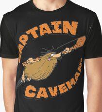 Captain Caveman Graphic T-Shirt