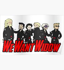 We Want Widow Poster
