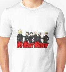 We Want Widow Unisex T-Shirt