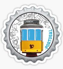 Symbols of Portugal - Lisboa Lisbon Tram #01 Sticker