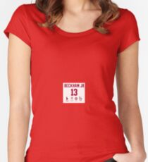 Odell Beckham Funny Stats Women's Fitted Scoop T-Shirt