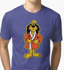 Hong Kong Phooey Standing Black Tri-blend T-Shirt