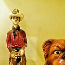 A Cowboy And His Dog by SuddenJim