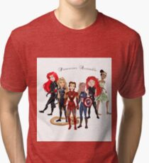 Princesses Assemble  Tri-blend T-Shirt