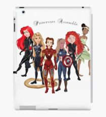 Princesses Assemble  iPad Case/Skin