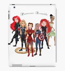 Princesses Assemble  iPad Case/Skin
