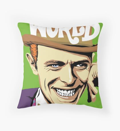 The Sold Throw Pillow