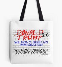 Trump Wall 2 Tote Bag