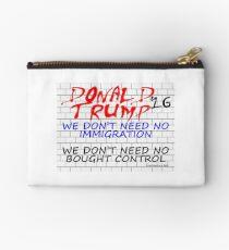 Trump Wall 2 Studio Pouch