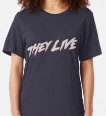 theylive Slim Fit T-Shirt