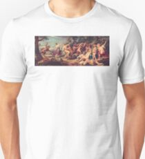 Diana and her Nymphs Surprised by Fauns Unisex T-Shirt
