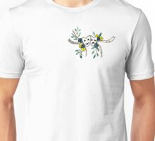 Phil 4:13 Floral Comedy/Tragedy Masks Unisex T-Shirt