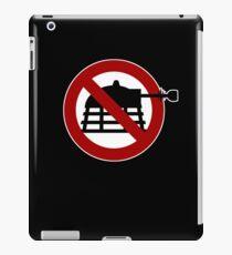 No Daleks iPad Case/Skin