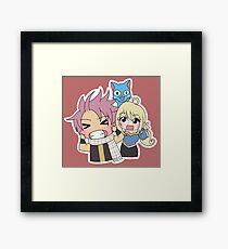 Team Natsu Framed Print