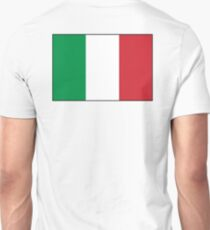 ITALY, ITALIAN, Italian Flag, Flag of Italy, 'Bandiera d'Italia', Pure and simple Unisex T-Shirt