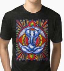 Ganesha as Goddess Tri-blend T-Shirt