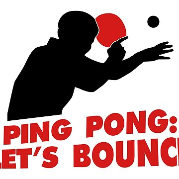 Ping Pong: Let's bounce by nektarinchen