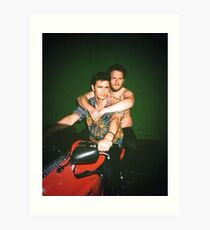 Seth Rogen and James Franco Art Print
