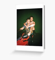 Seth Rogen and James Franco Greeting Card