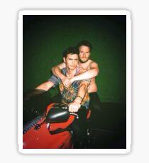 Seth Rogen and James Franco Sticker