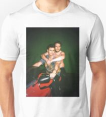 Seth Rogen und James Franco Slim Fit T-Shirt