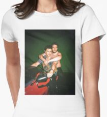 Seth Rogen and James Franco Women's Fitted T-Shirt