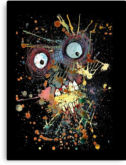 Shocked Zombie by byronrempel