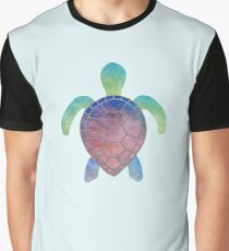 Colorful turtle Graphic T-Shirt