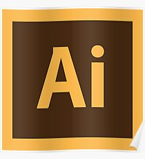 Adobe Illustrator Icon Poster