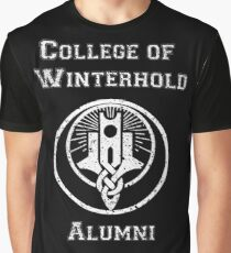 College of Winterhold Alumni Graphic T-Shirt