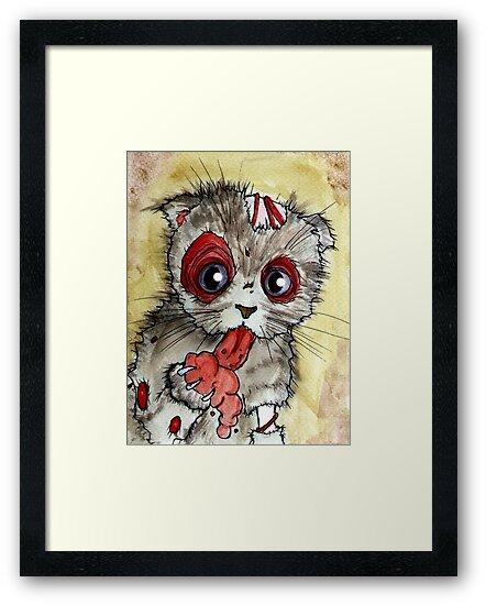 LOL zombie cat by byronrempel