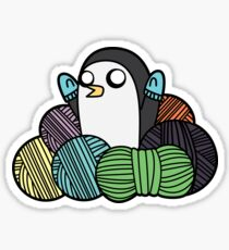 Yarn Gunter Sticker