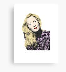 POP! Gillian Anderson Canvas Print