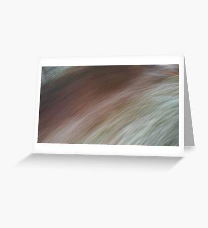 Brush past Greeting Card