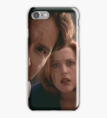 Mulder & Scully iPhone Case/Skin