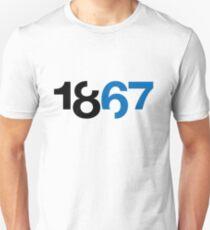 1867 White Unisex T-Shirt