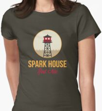 Spark House Red Ale Womens Fitted T-Shirt