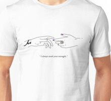 "TMI - Malec ""I always need your strength"" Unisex T-Shirt"