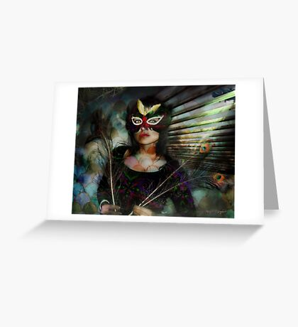 Dirty Pretty Things (Art & Poetry) Greeting Card