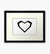 Star wars Stormtroopers Heart Framed Print