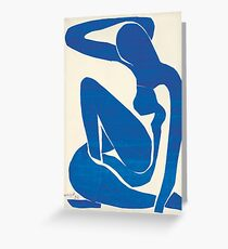 Matisse Blue Nude II Greeting Card