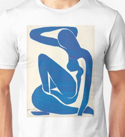 Matisse Blue Nude II Unisex T-Shirt