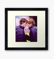 Matt Smith and Karen Gillan Framed Print