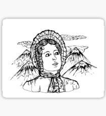 Elizabeth Bennet Sticker