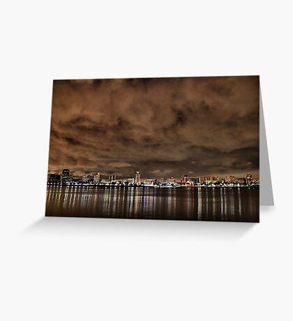 El Niño Skies Greeting Card