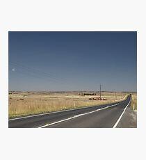 Snowy Highway NSW Australia  Photographic Print
